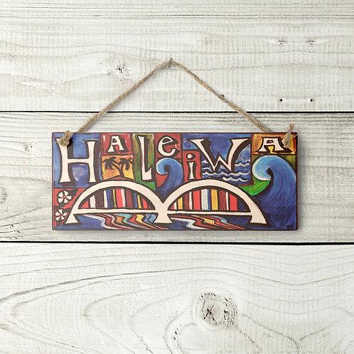 Small Haleiwa Sign