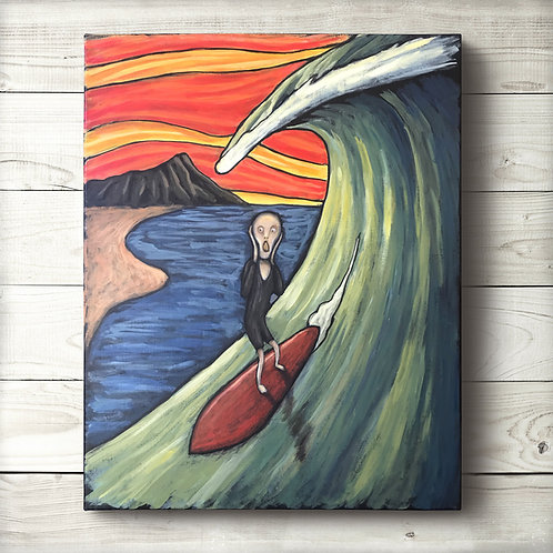 Original Screaming Surfer