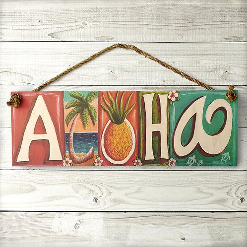 Aloha Large Sign