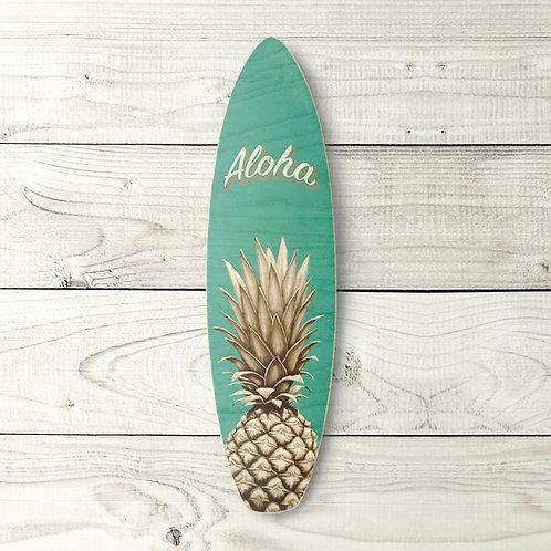 Aloha Pineapple Surfboard