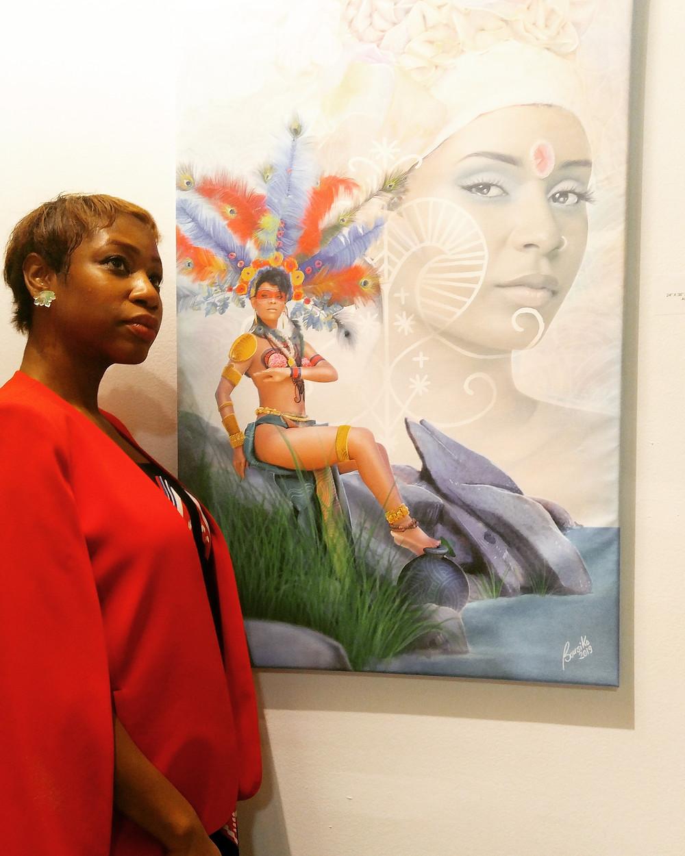 Miami Art Basel Haitian Artwork