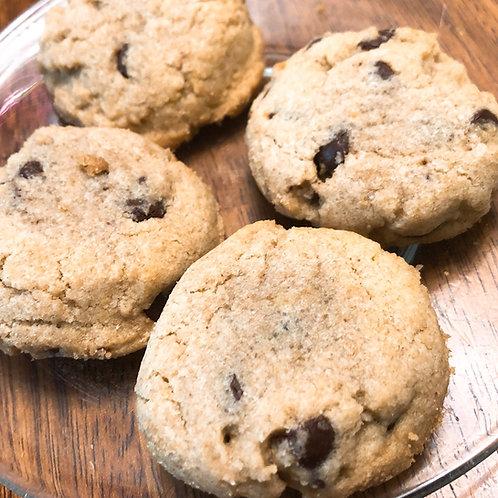 GF V Chocolate Chip Cookies