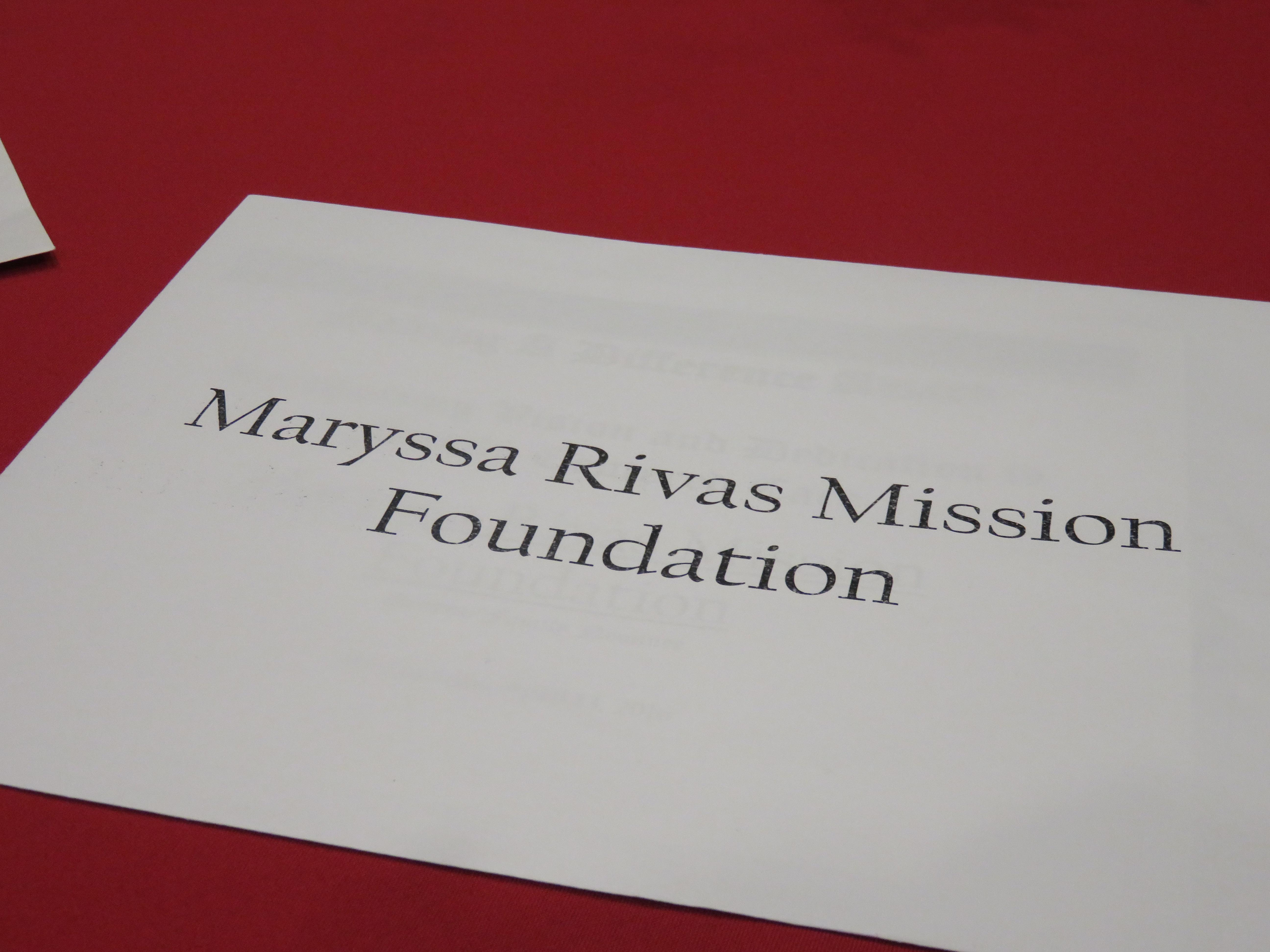 Maryssa's Mission Nominations