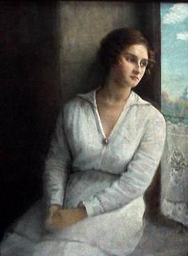 Юдель Пэн. Девушка в белом.jpg