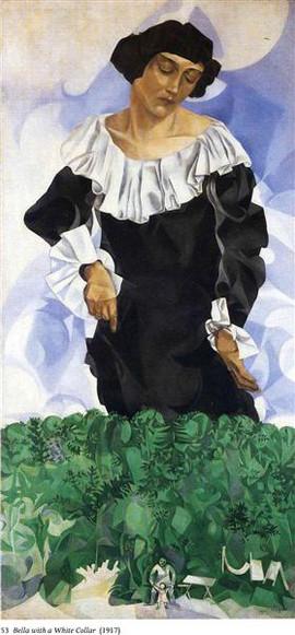 Марк Шагал. Белла с белым воротником.jpg