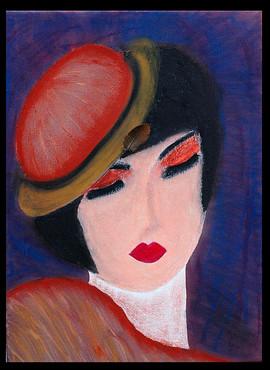 Нирит Бен Нун, портрет женщины.jpg