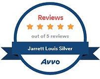 Jarrett Silver silverlegal 5 avvo client reviews - 5 out of 5 stars
