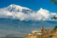 klooster van Khor Virap en de berg Ararat