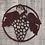 Thumbnail: Wine Grapes Wall Hanging