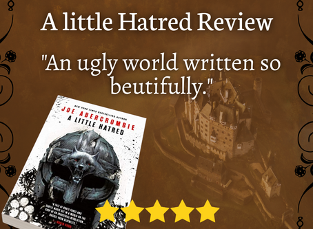 Review: A Little Hatred by Joe Abercrombie