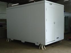 cabine meteorológica container