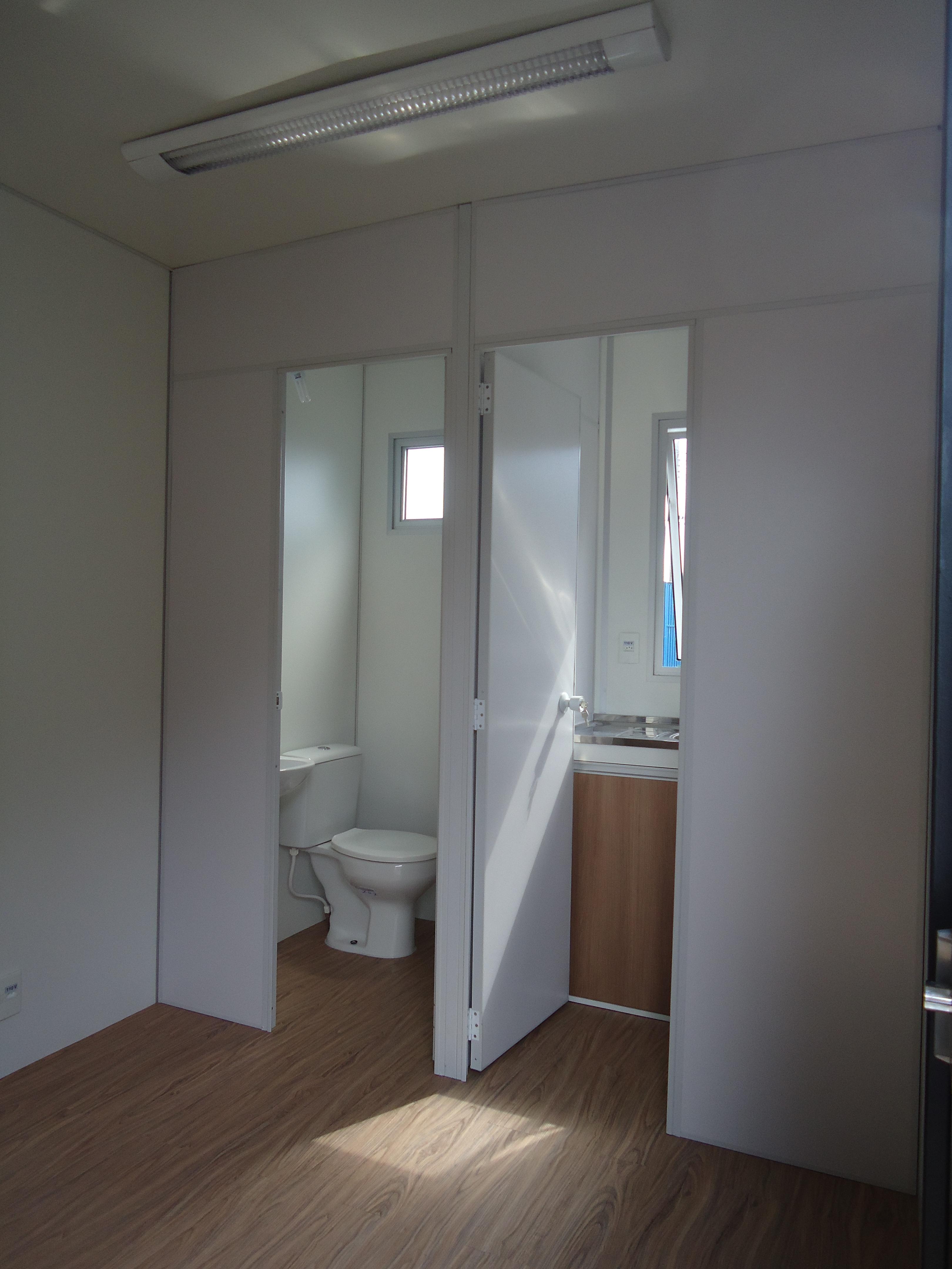 interior container escritório