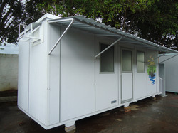 container ambulatório