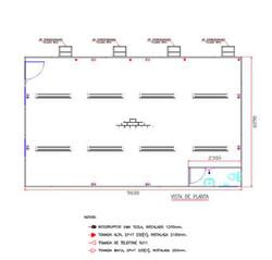 Planta Baixa - Container Quádruplo