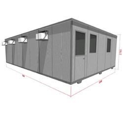 Perspectiva Artística Container Quad