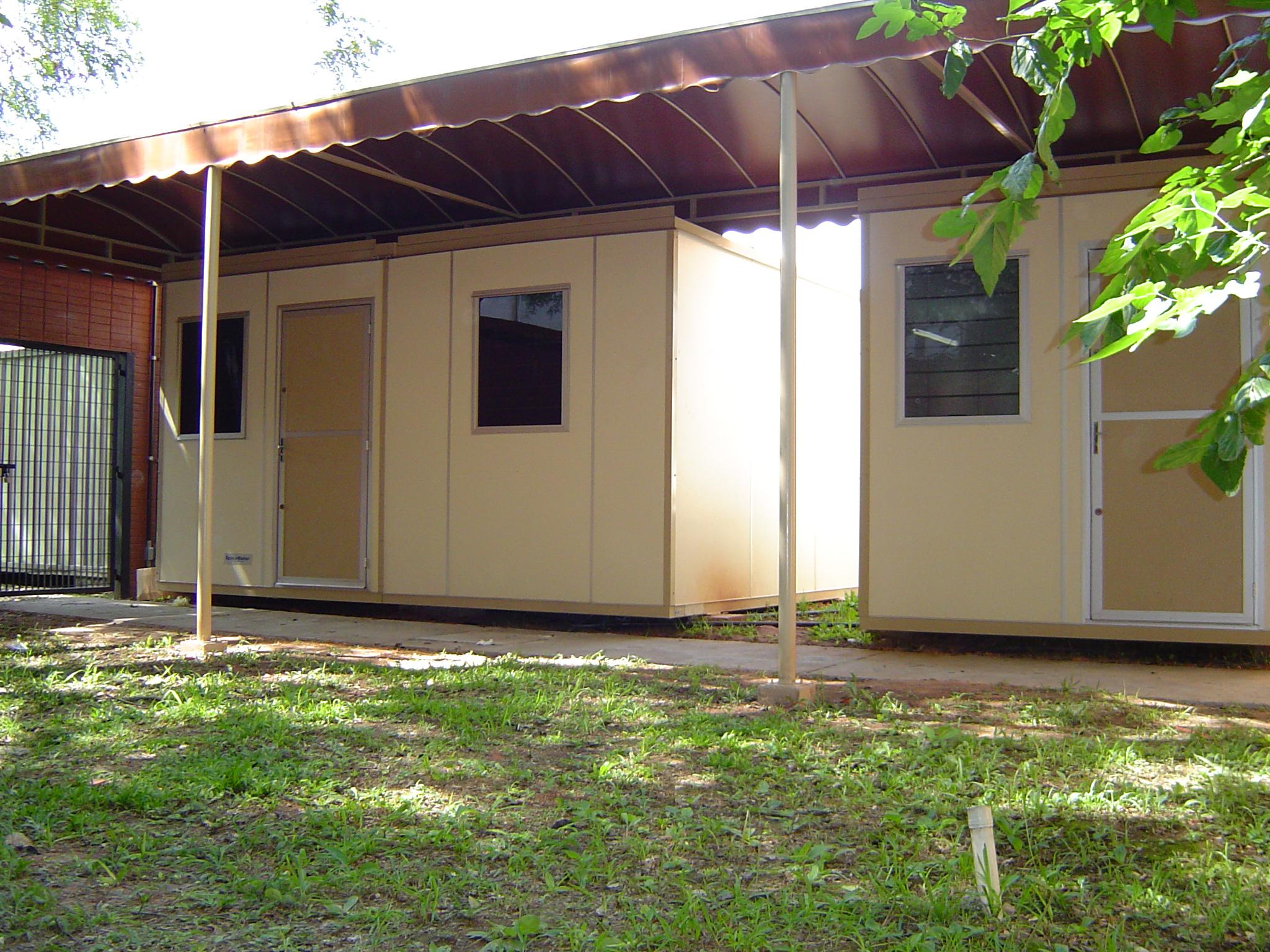 sala de aula container
