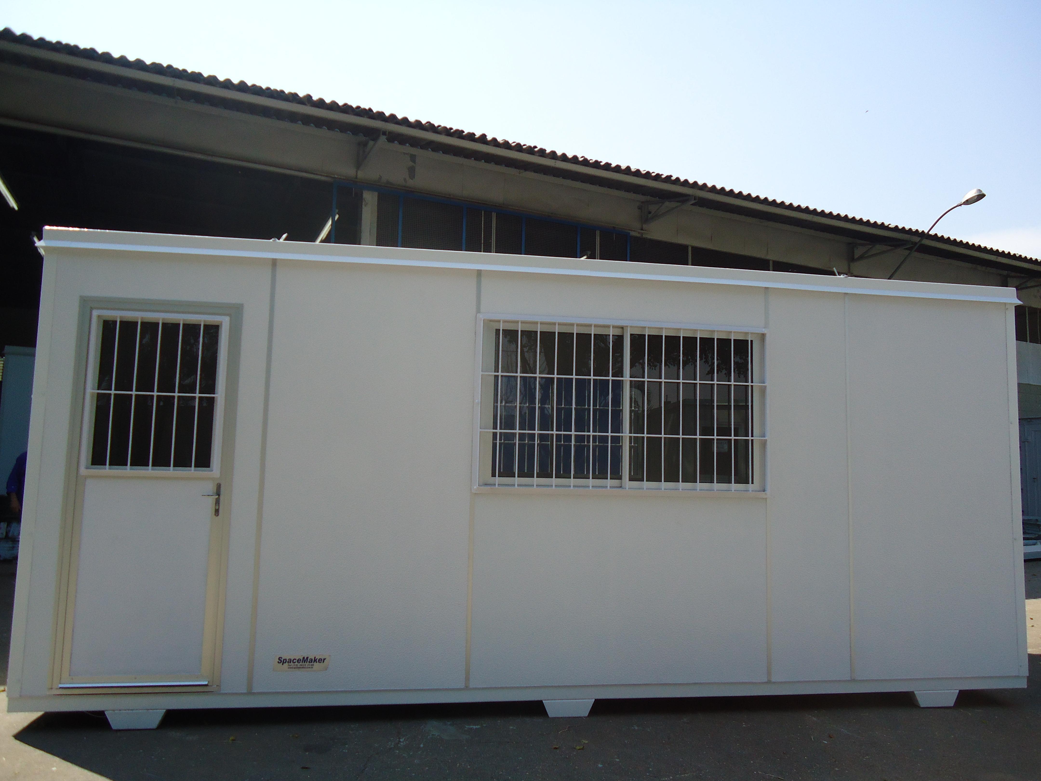 container grade escritório