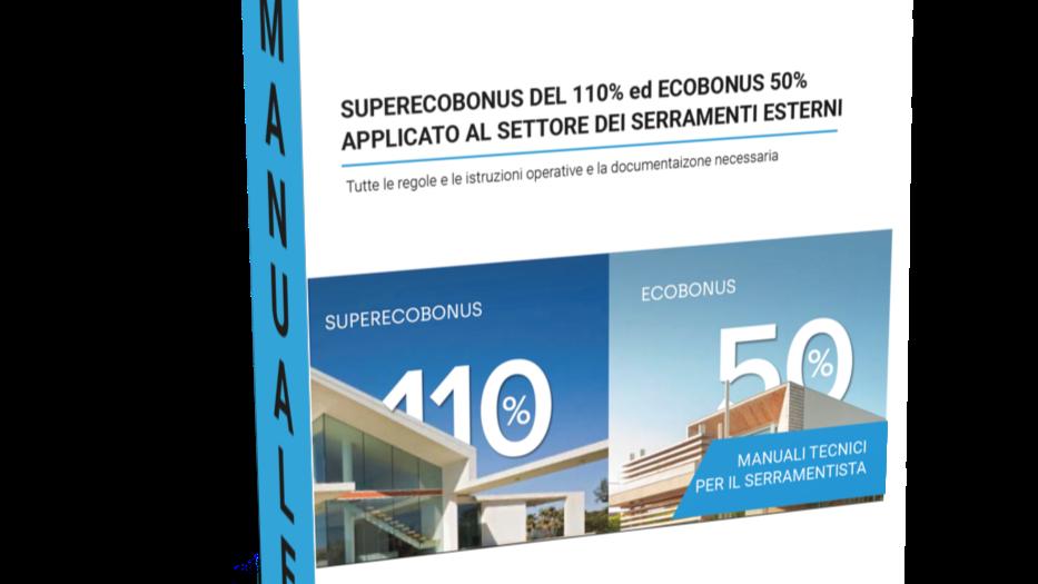 "NEW Manuale ""Superecobonus 110% ed ecobonus 50%"""
