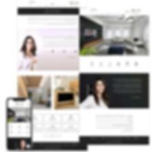 אתר וויקס למעצבת פנים