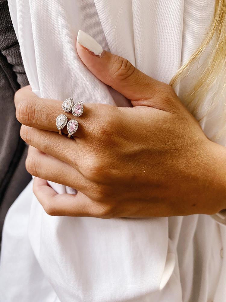 טבעת כסף בעבודת יד