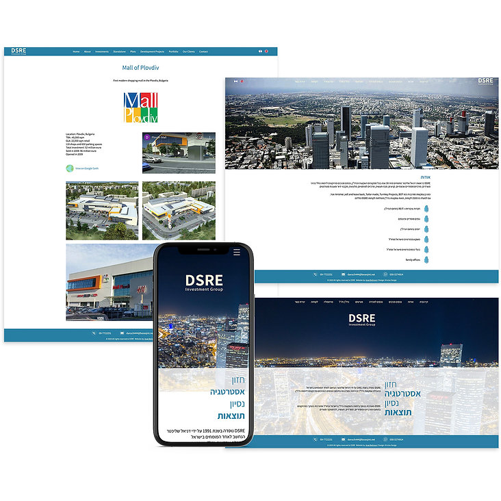 בניית אתר וויקס לחברת נדל״ן
