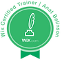 WIX Certified Trainer Badge