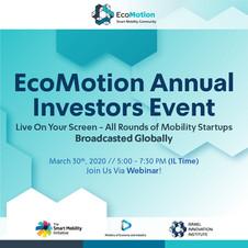 EcoMotion Annual Investors Event