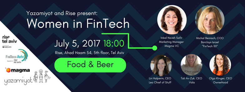 Invitation to the event: Women in FinTech