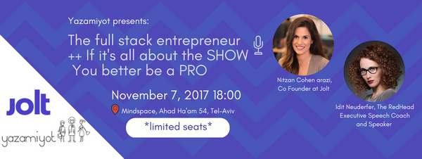 Invitation to the lecture: The Full Stack Entrepreneur