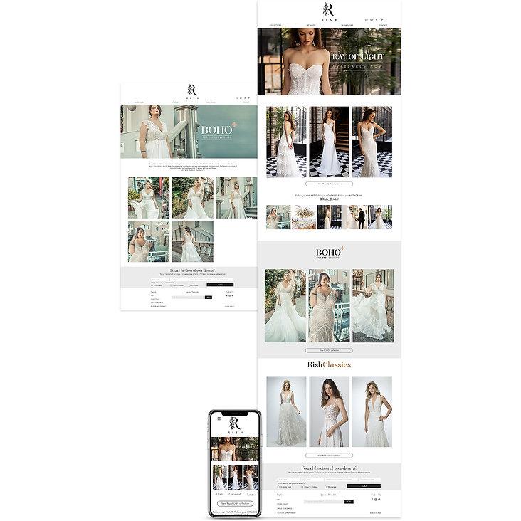 אתר בוויקס למעצב שמלות כלה