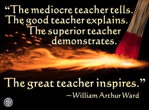 Teaching and Performing - A conflict or an Advantage?
