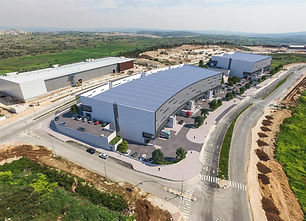 Warehouse 25 dunams 11,000 sq m built potential for 7.5% yield 50 mil Shekels