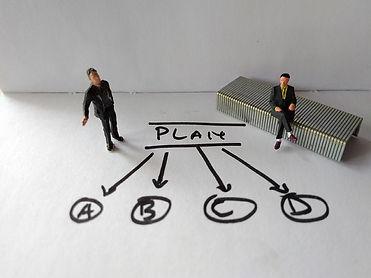 איור של שלבי תכנית