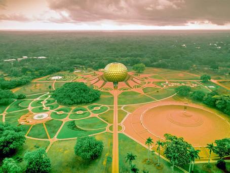 אורוויל: עיירה בינלאומית שיתופית בהודו