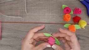 סדנה להכנת קשת פרחים