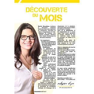 כתבה על רון-לי רוזנבלום בעיתון צרפתי