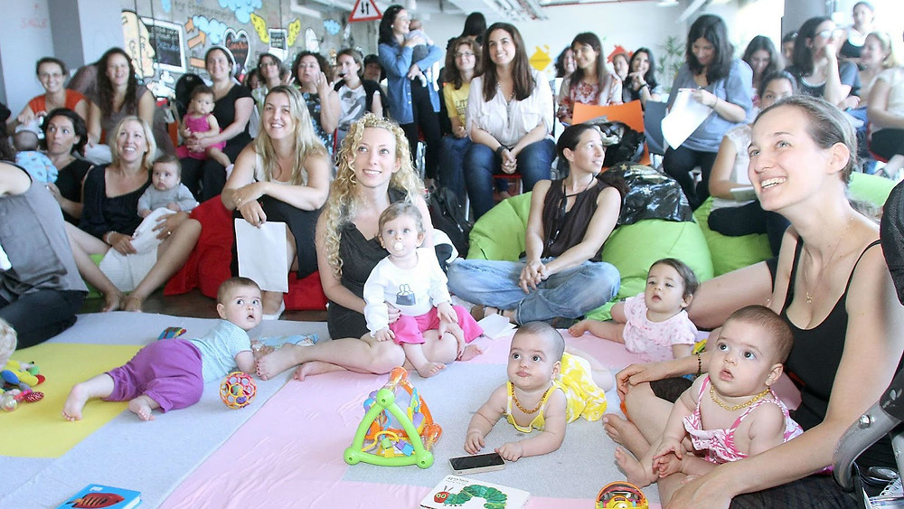 Mothers and Babies at Google's Campus TLV