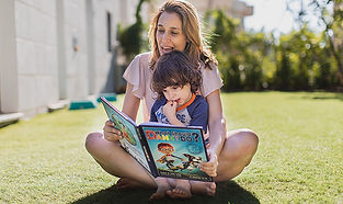 אתר לבלוג אימהי עם המלצות על ספרים ומשחקים לילדים