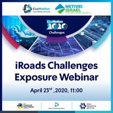 iRoads Challenges Exposure Webinar