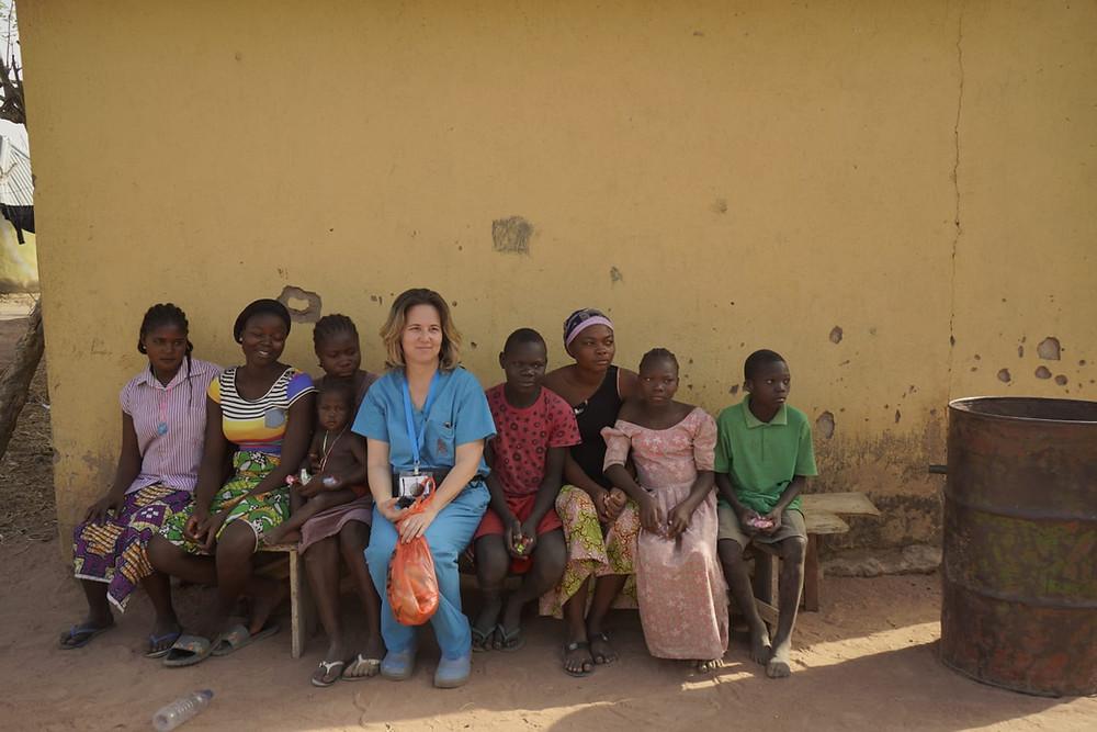 ד״ר יונינה רון מסע לאפריקה