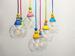 """סקיצה - מנורות צבעוניות לאנשים מיוחדים 200 ש""""ח כל אחת"""