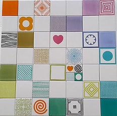קרמיקה מיוחדת 10/10 בדוגמאות שונות וצבעים משמחים