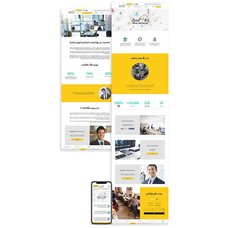 בניית אתר בוויקס לסוכנות ביטוח