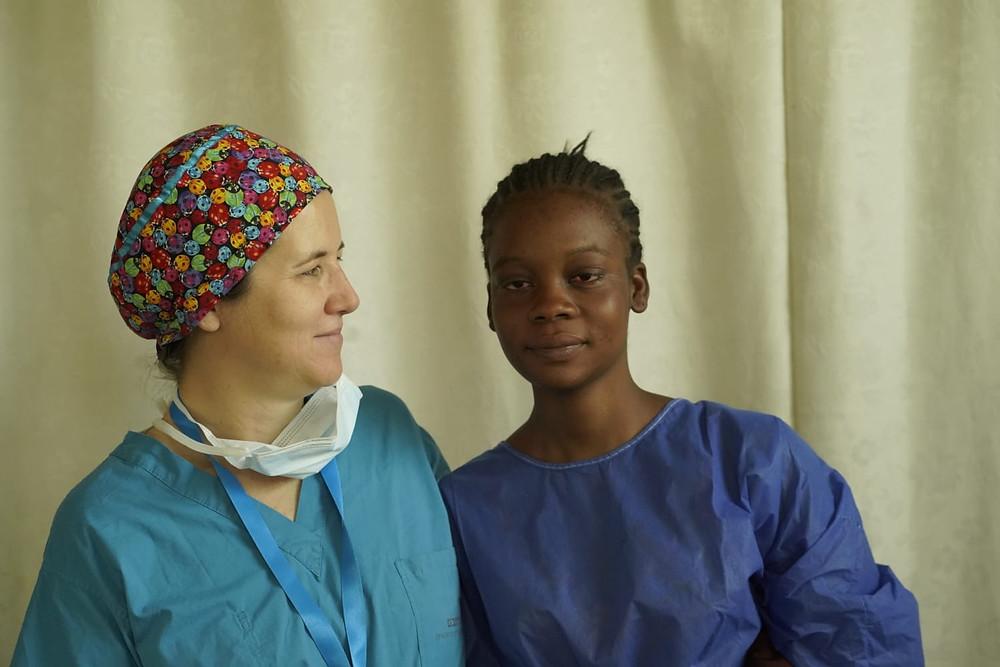 ד״ר יונינה רון - רופאת עיניים במסע לאפריקה