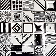 מגוון דוגמאות בשחור לבן 10/10 אפשרי בצבעים שונים
