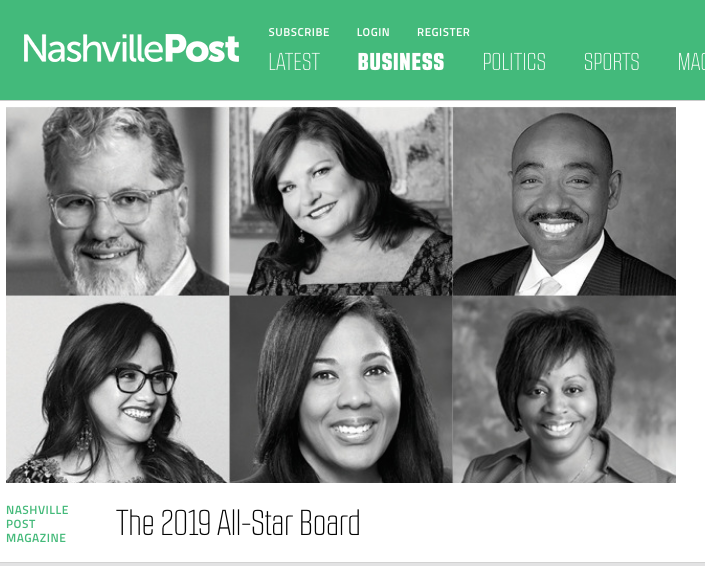 Nashville Post The 2019 All-Star Board
