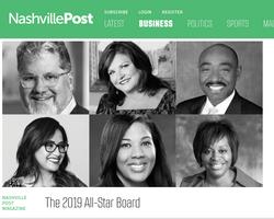 Nashville Post The 2019 All-Star Board