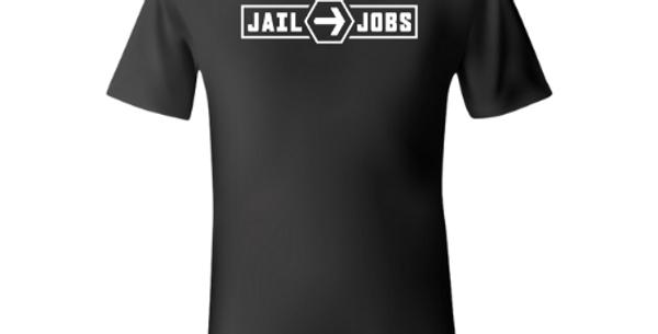 Black Athletic Tee - Full Logo