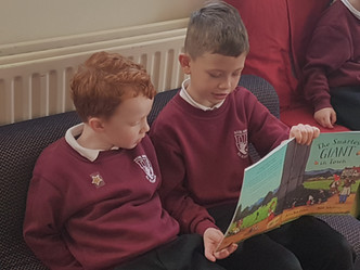 Reading with buddies