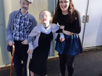 Halloween Dress Up in 5th & 6th Class